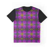 Abstract Day Lilies 1 Graphic T-Shirt
