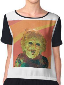Ty Segall T-Shirt Chiffon Top