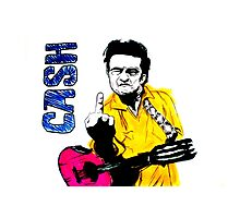 Cash Photographic Print