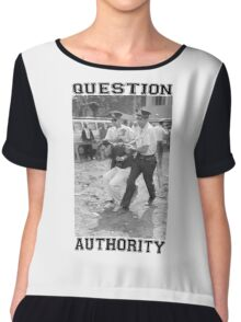 QUESTION AUTHORITY Chiffon Top