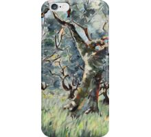 In the Umbrian Olive Grove iPhone Case/Skin