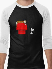 Snoopy And Hobbes Men's Baseball ¾ T-Shirt