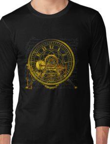 Vintage Time Machine #1B Long Sleeve T-Shirt