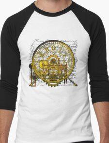 Vintage Time Machine #1B Men's Baseball ¾ T-Shirt