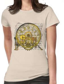 Vintage Time Machine #1B Womens Fitted T-Shirt