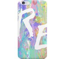 Rough Edit Splatter Logo iPhone Case/Skin