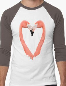 Bleeding Love Men's Baseball ¾ T-Shirt