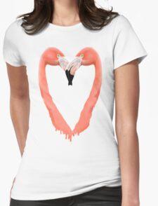 Bleeding Love Womens Fitted T-Shirt