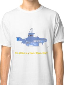 timey wimey sub (update) Classic T-Shirt