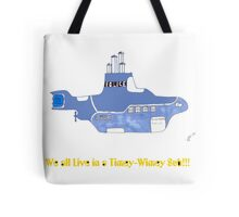 timey wimey sub (update) Tote Bag