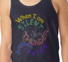 THUNDER... hidden silently ~ Rumi Tank Top