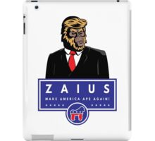 Vote Zaius iPad Case/Skin