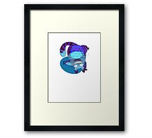 The Chesire-Cat Framed Print