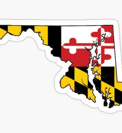 Maryland - Flag Sticker