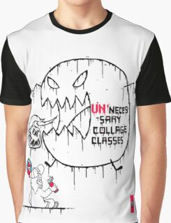 College Kid Struggles Graphic T-Shirt
