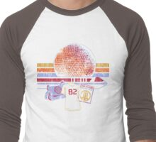 Spaceship Earth and Monorail Vintage T-Shirt Men's Baseball ¾ T-Shirt