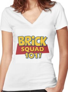 Squad Story  Women's Fitted V-Neck T-Shirt