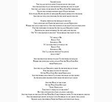 Wild Eyed Boy From Freecloud Lyrics Unisex T-Shirt