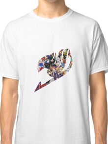 Fairy Tail GMG Characters Logo Classic T-Shirt