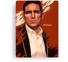 Mr. Reese Canvas Print