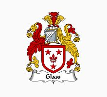 Glass Coat of Arms / Glass Family Crest Unisex T-Shirt