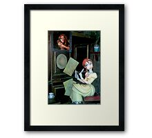 Can You Show Me? Framed Print