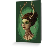 Forest Queen Greeting Card