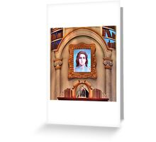 The Enchanted Library Greeting Card