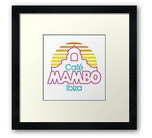 Café Mambo Ibiza Framed Print