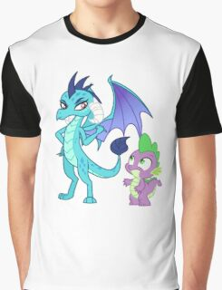 PRINCESS EMBER AND SPIKE Graphic T-Shirt
