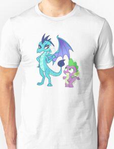 PRINCESS EMBER AND SPIKE Unisex T-Shirt