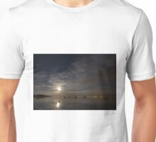 Moonrise over Lake Constance, Germany Unisex T-Shirt