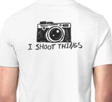I Shoot Things Unisex T-Shirt