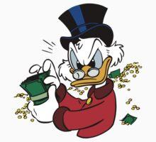 Scrooge McDuck One Piece - Long Sleeve
