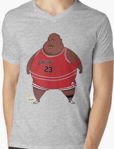 Fat-Jordan Mens V-Neck T-Shirt