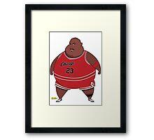 Fat-Jordan Framed Print