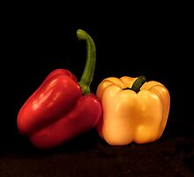 SPRING PEPPERS by Diane Peresie