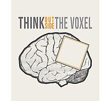 Think Outside the Voxel Photographic Print
