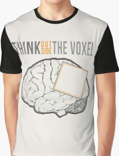 Think Outside the Voxel Graphic T-Shirt