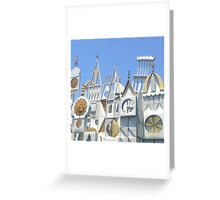 It's a Small World After All Greeting Card