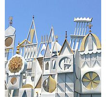 It's a Small World After All Photographic Print