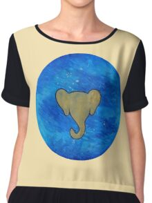 Elephant Planet Chiffon Top