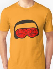 music party dj disco party headphones mischpult glasses technology sunglasses cool sunglasses Unisex T-Shirt