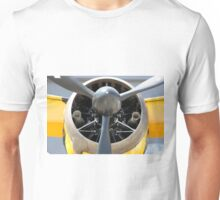 Bristol Mercury XX(X) 870 hp engine and propeller of Army Co-operation single engine Westland Lysander III aircraft. Unisex T-Shirt