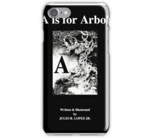 A is for Arbol; The English Latin Alphabet in 26 Languages iPhone Case/Skin