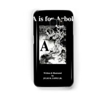 A is for Arbol; The English Latin Alphabet in 26 Languages Samsung Galaxy Case/Skin