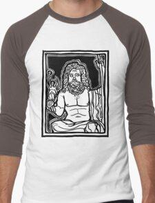 Zeus - god of sky and thunder Men's Baseball ¾ T-Shirt
