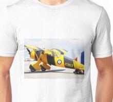 Army Co-operation single engine Westland Lysander III aircraft. Unisex T-Shirt