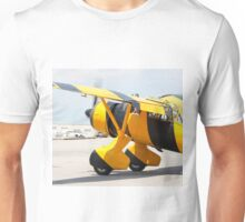 Army Co-operation single engine Westland Lysander III aircraft with started engine. Unisex T-Shirt