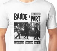 BAND A PART - JEAN LUC GODARD Unisex T-Shirt